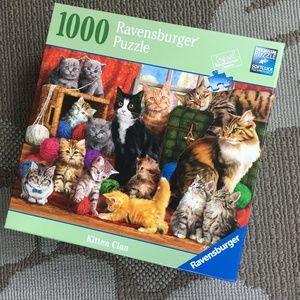 Kitten Puzzle Ravensburger 1000 pcs